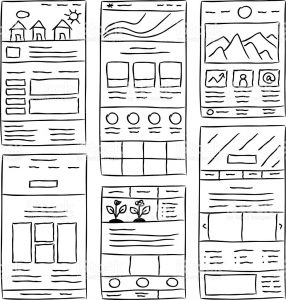 Websites tell a visual and personal brand story.